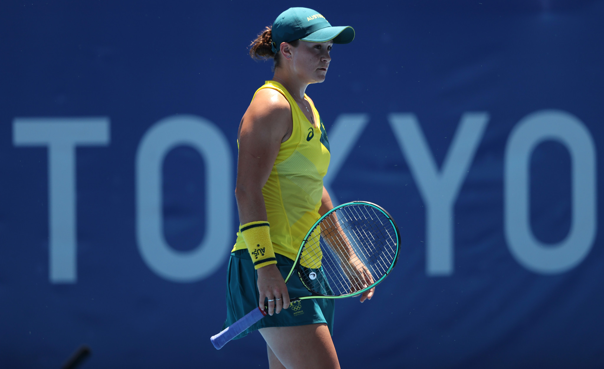 There was a shock in the women's singles tennis as Australia's Ashleigh Barty - the Wimbledon champion - fell in the first round against Sara Sorribes Tormo from Spain ©Getty Images