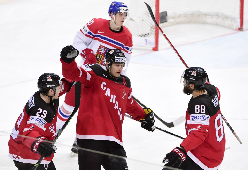 Canada will face Russia for gold after they overcame hosts Czech Republic 2-0 in their semi-final