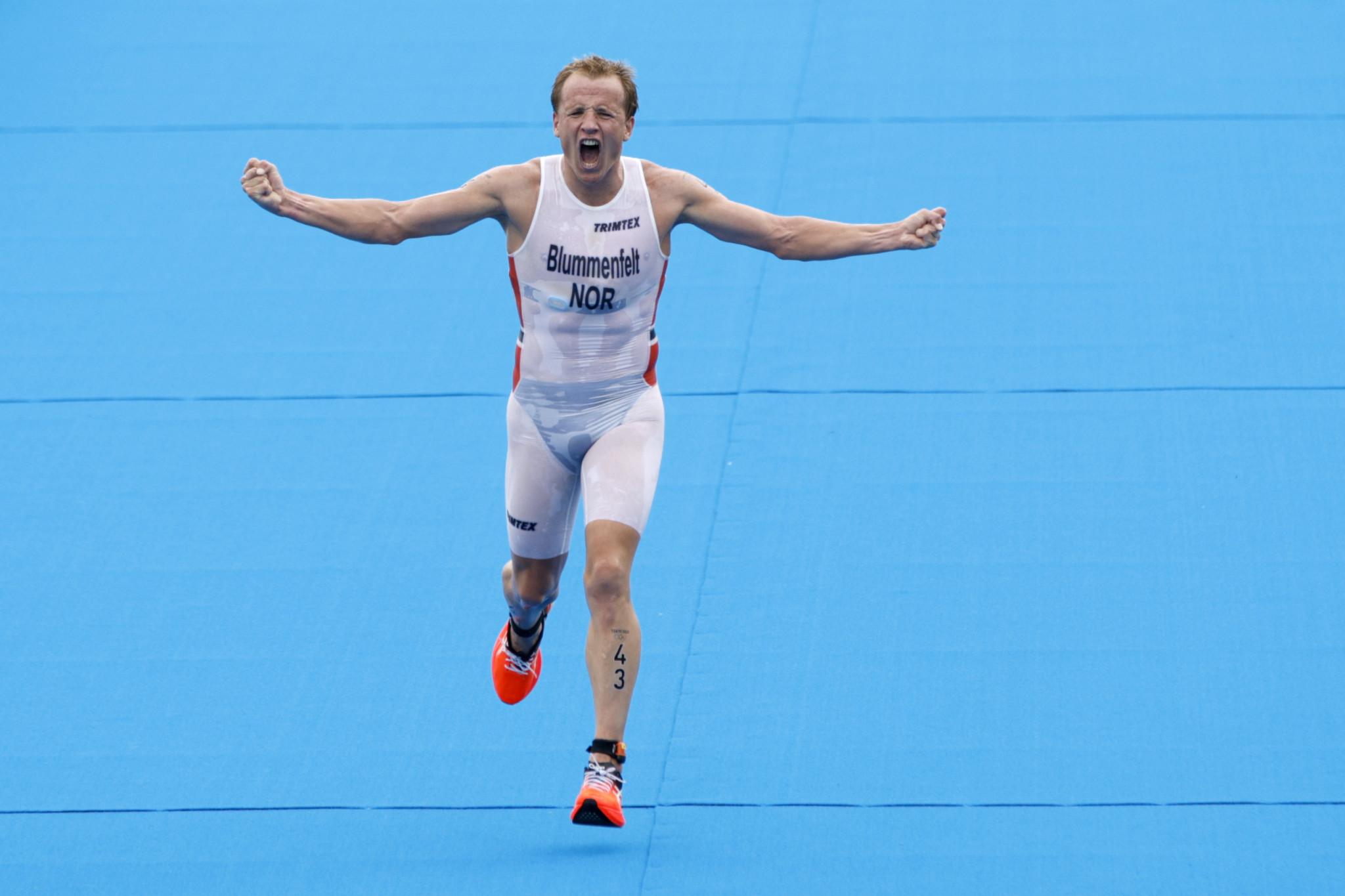 Norwegian Blummenfelt gobbles up gold for breakfast in Olympic triathlon