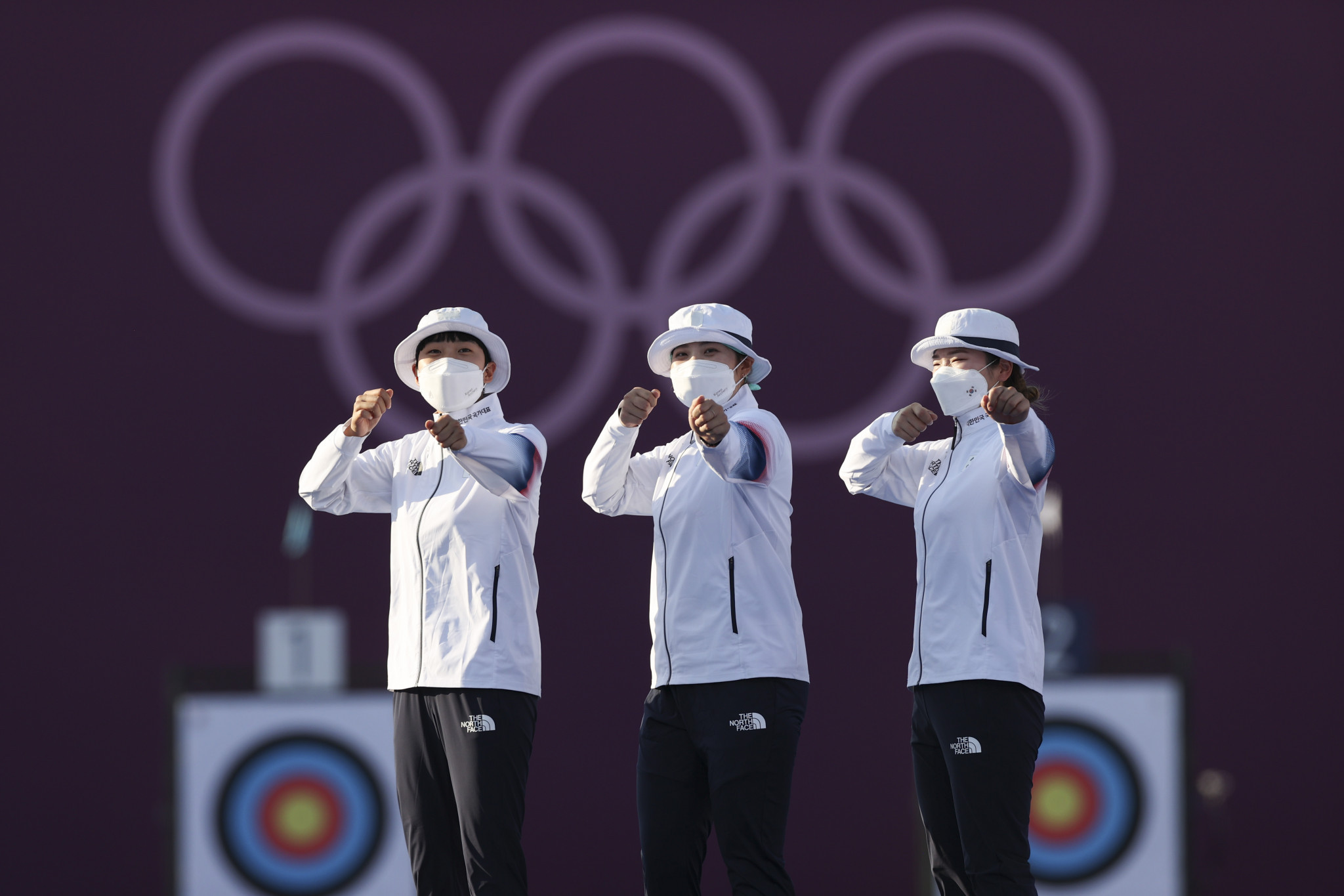 South Korea win women's team archery gold medal for ninth consecutive Olympics