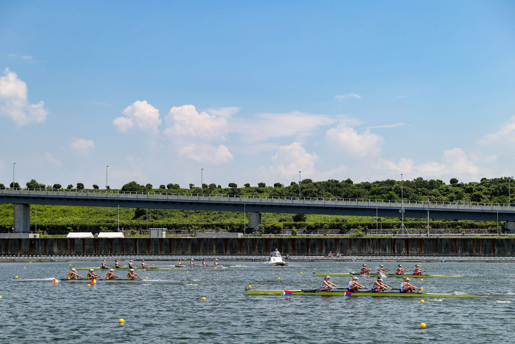 Rowing events have been rescheduled because of a potential tropical storm ©Getty Images