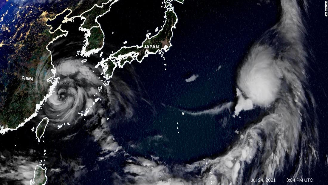 Tropical Storm Nepartak, due to hit Japan tomorrow, could impact on a number of Olympic events at Tokyo 2020 ©Japan Meteorological Agency