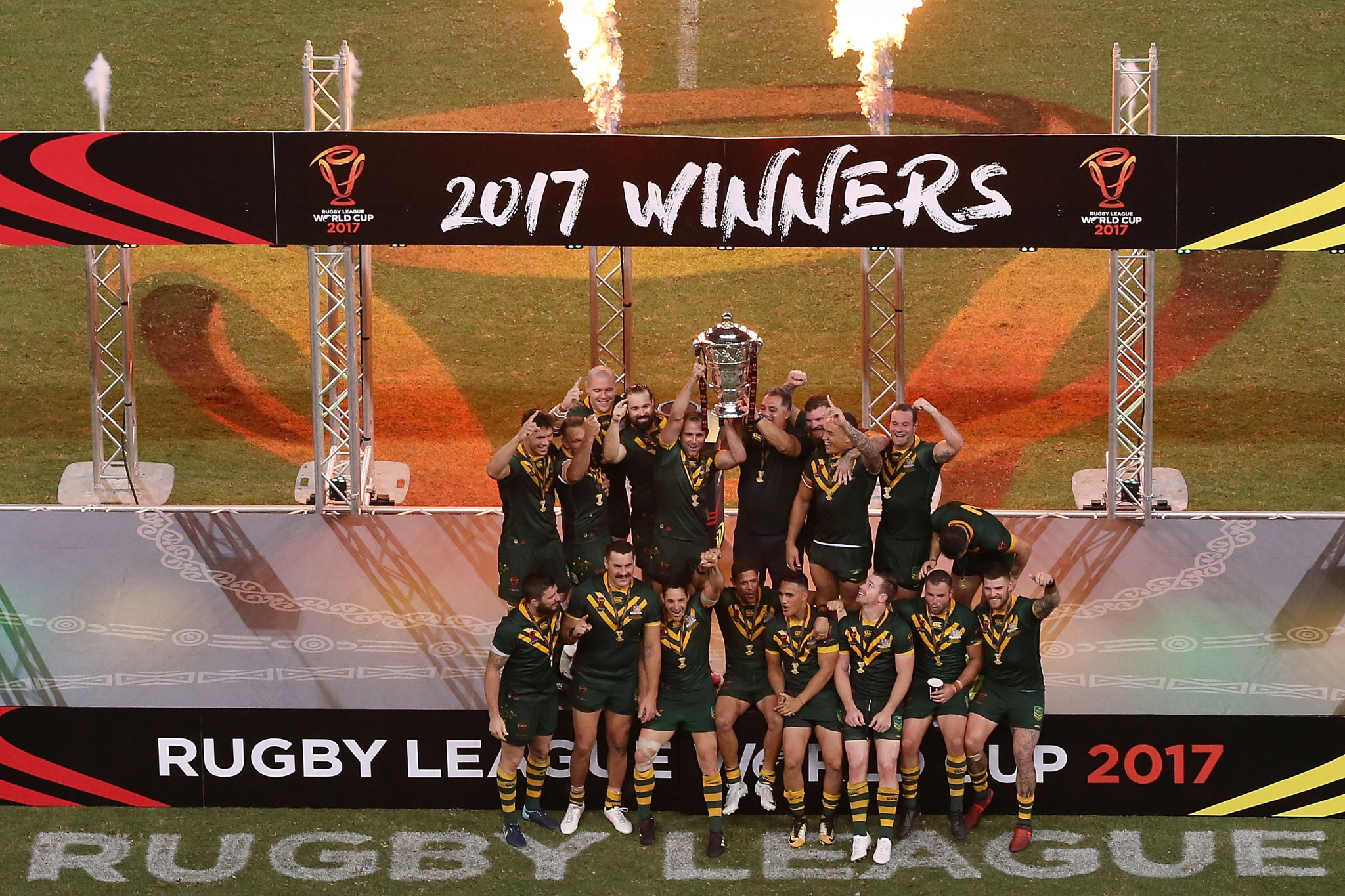 Rugby League World Cup organisers hold emergency talks after Australia and New Zealand withdraw