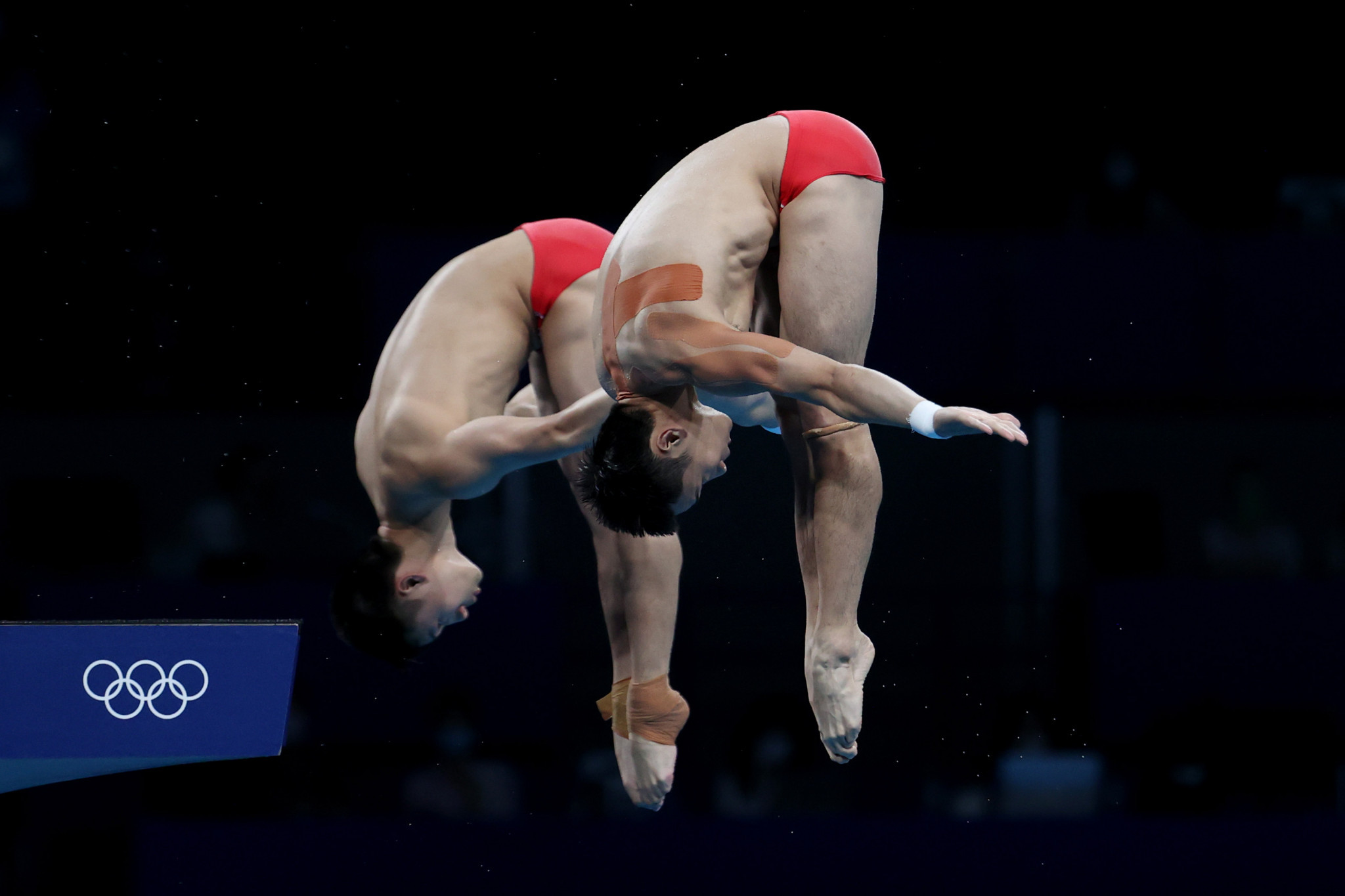 Yuan Cao and Aisen Chen of China top scored in every round except one, which ultimately cost them ©Getty Images