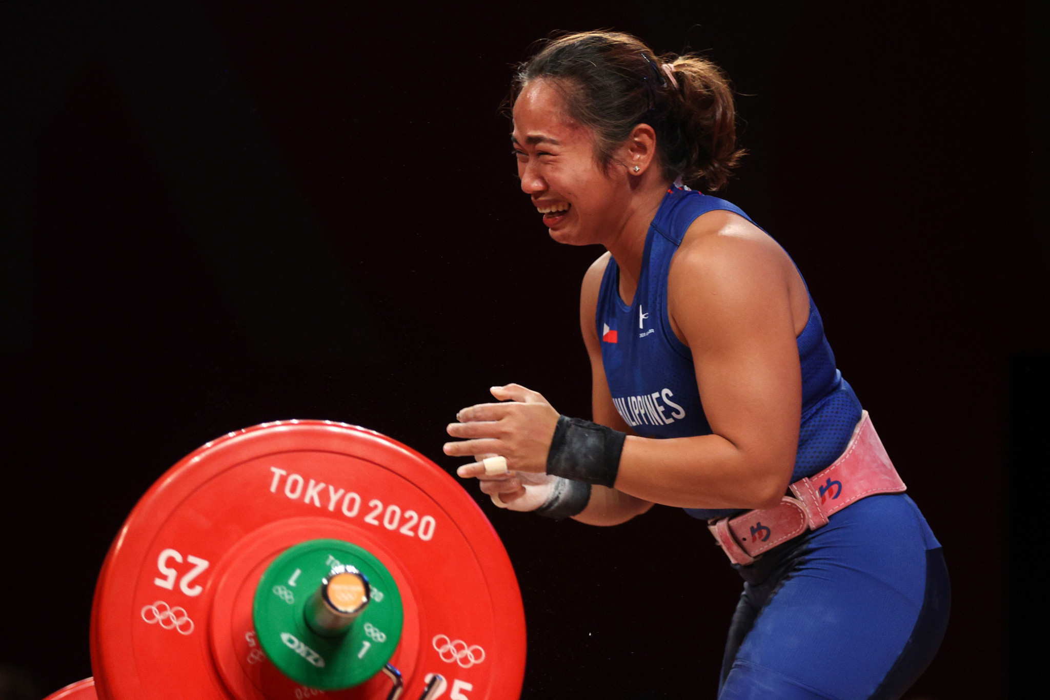 Weightlifter Hidilyn Diaz wins first-ever Olympic gold for Philippines
