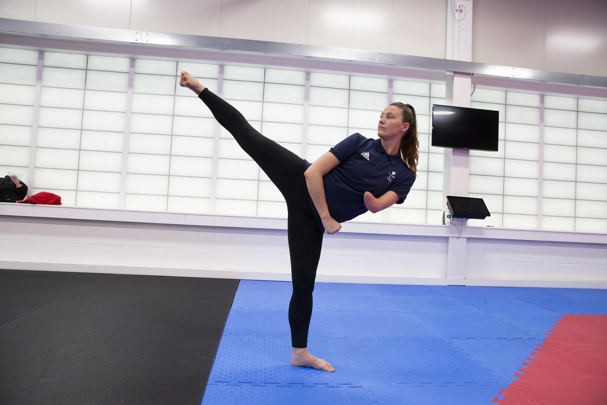 Truesdale and Seye Para taekwondo's additions to IPC virtual sticker album