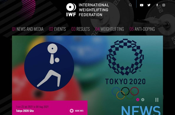 IWF launches new website, targets boosted digital engagement during Tokyo 2020