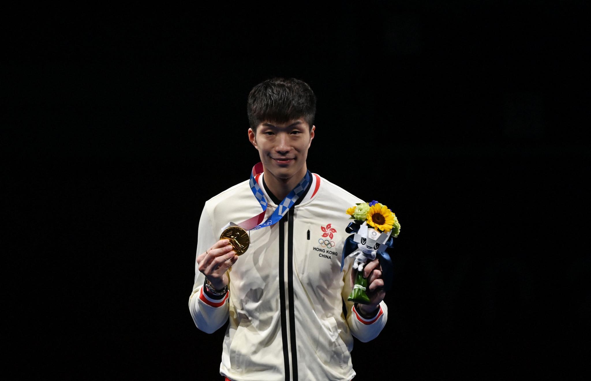 Cheung Ka Long upsets Daniel Garozzo to win Hong Kong's first fencing gold