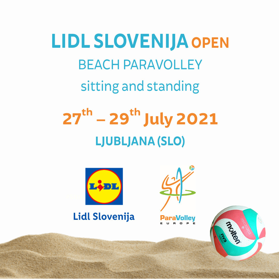 Slovenia all set for first official ParaVolley Europe competition