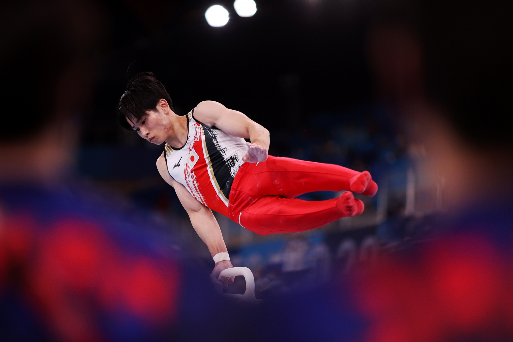 Defending Olympic champions Japan place second - 0.103 points behind ROC ©Getty Images
