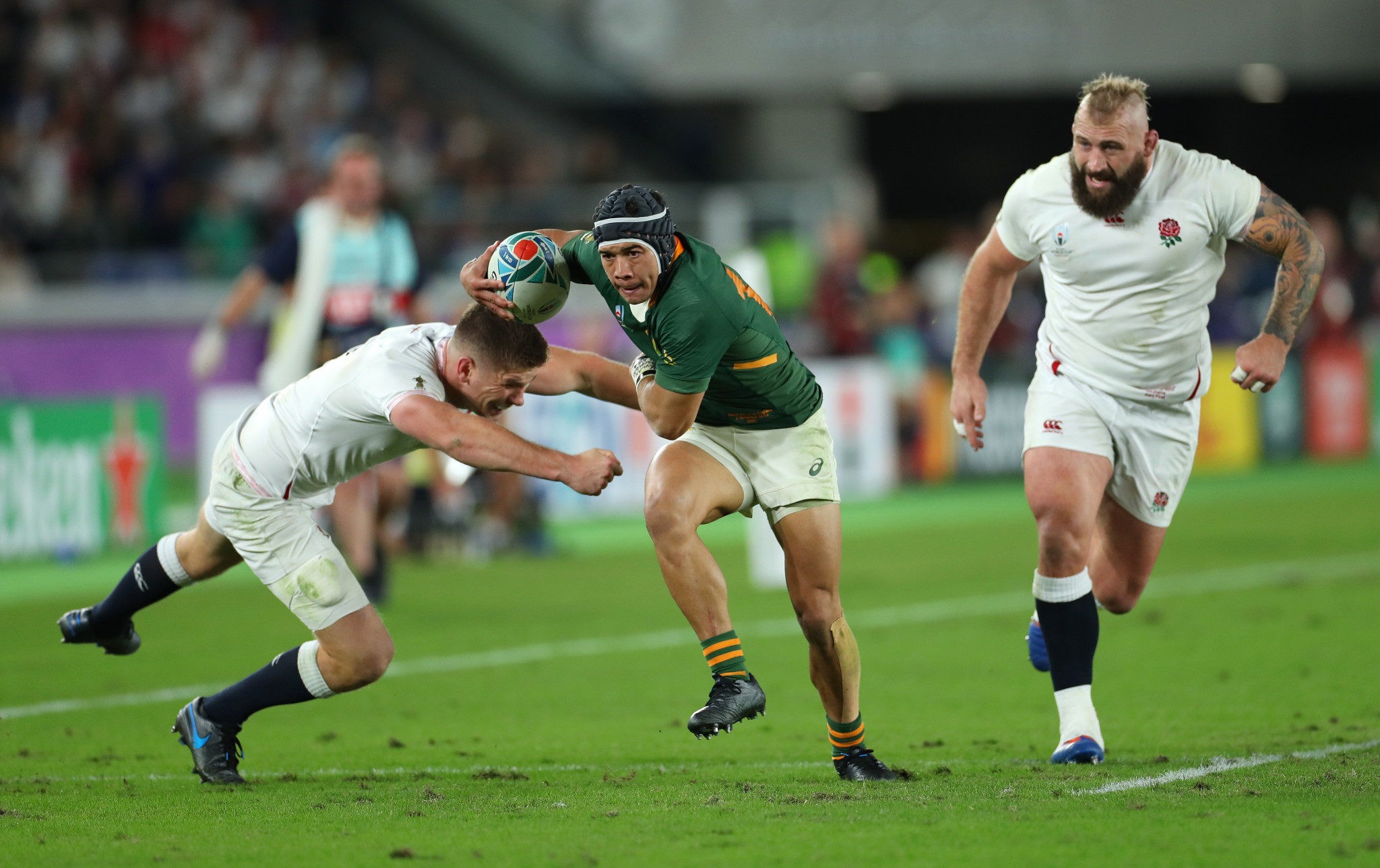 World Rugby is fortunate the the 2019 Rugby World Cup was completed shortly before COOVID-19 brought international sport to a standstill ©Getty Images