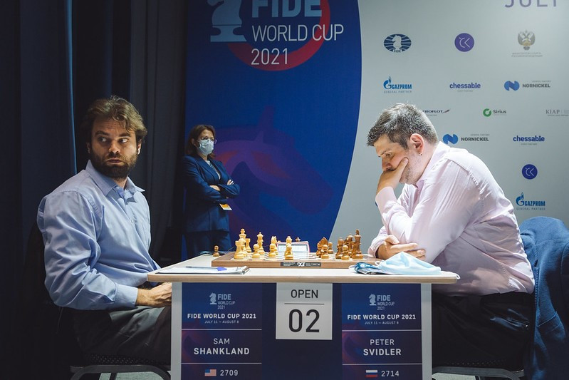 Shankland and Gujrathi reach Chess World Cup quarter-finals on day of stalemates