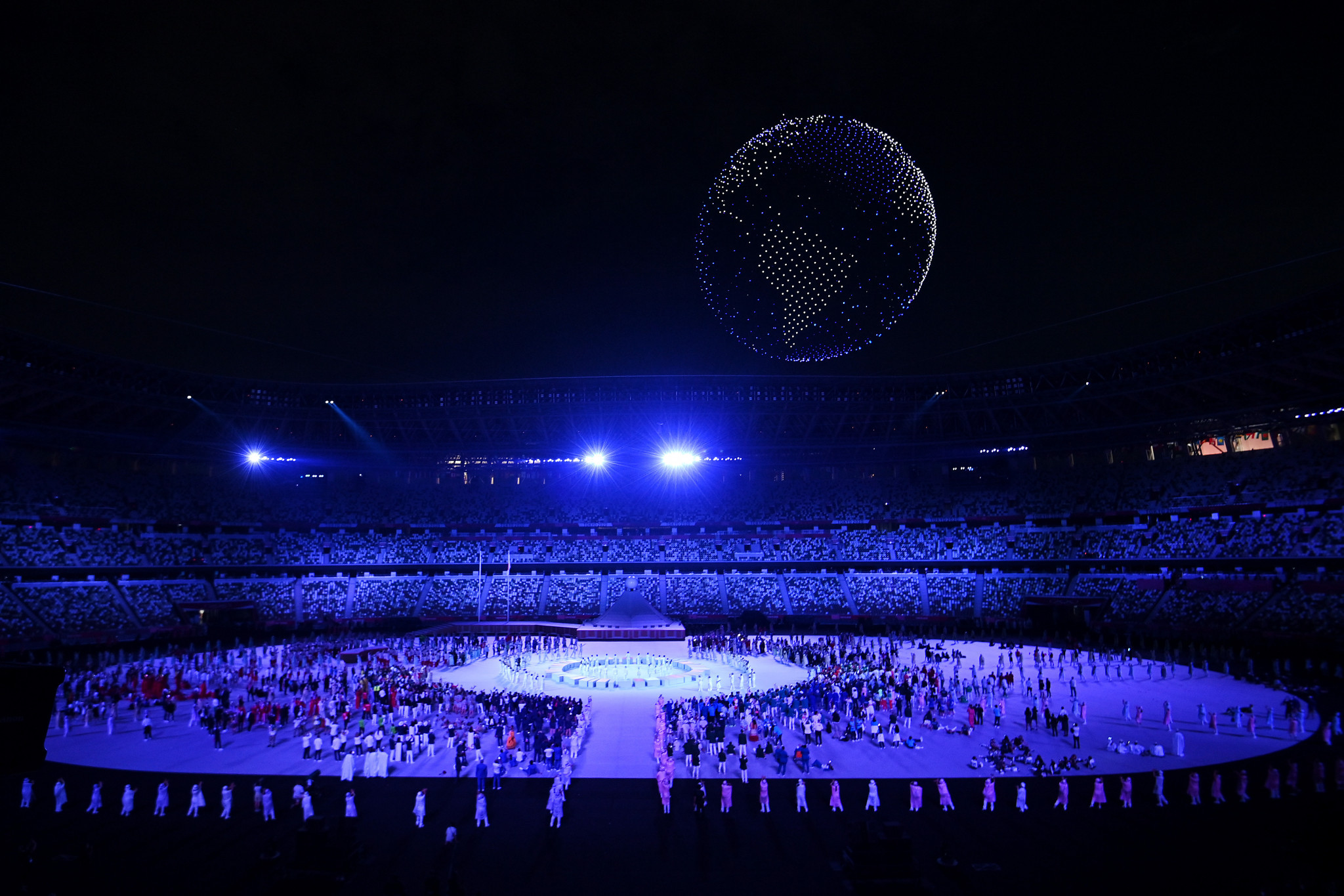 TOP sponsor Intel promises 3DAT platform to improve Olympic athletics broadcasts following drones' starring role in Opening Ceremony
