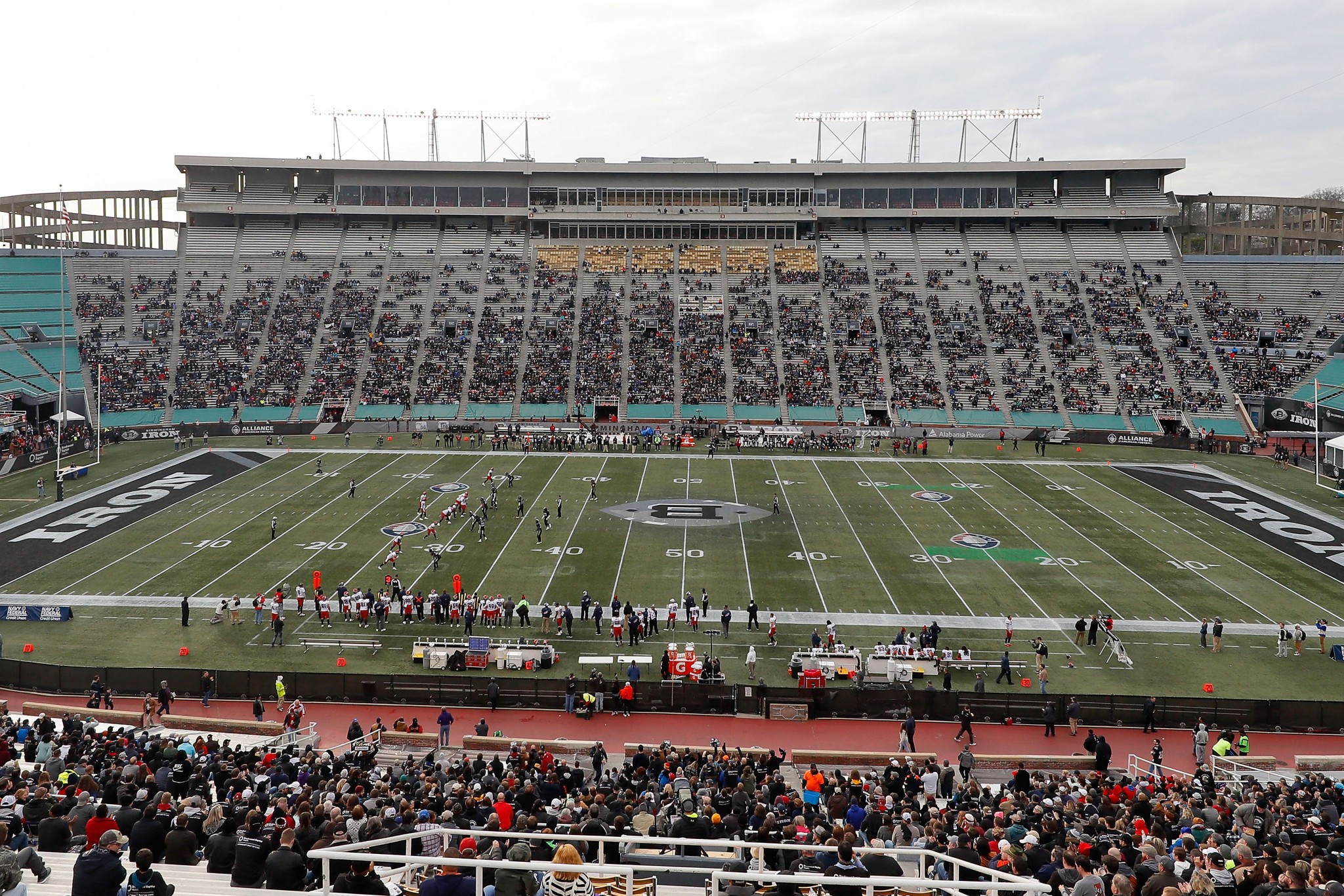 Legion Field will host the flag football event at the Birmingham 2022 World Games ©Getty Images