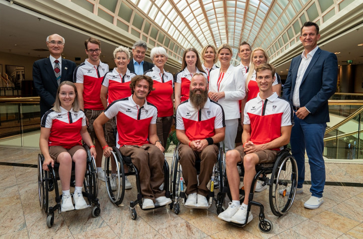 Austrian team for Tokyo 2020 Paralympics sworn in by Sports Minister