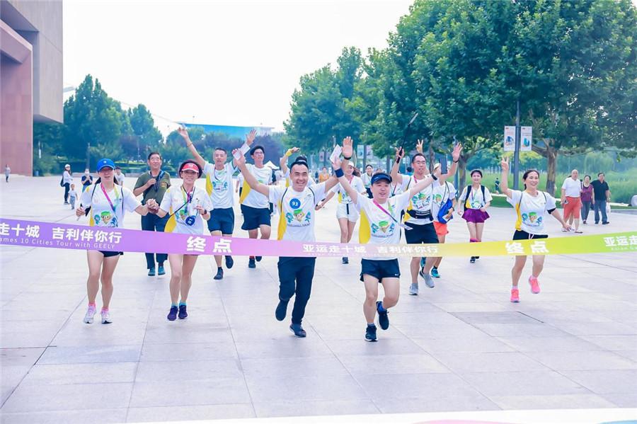 Tianjin third stop in 10-city tour to celebrate Hangzhou 2022 Asian Games