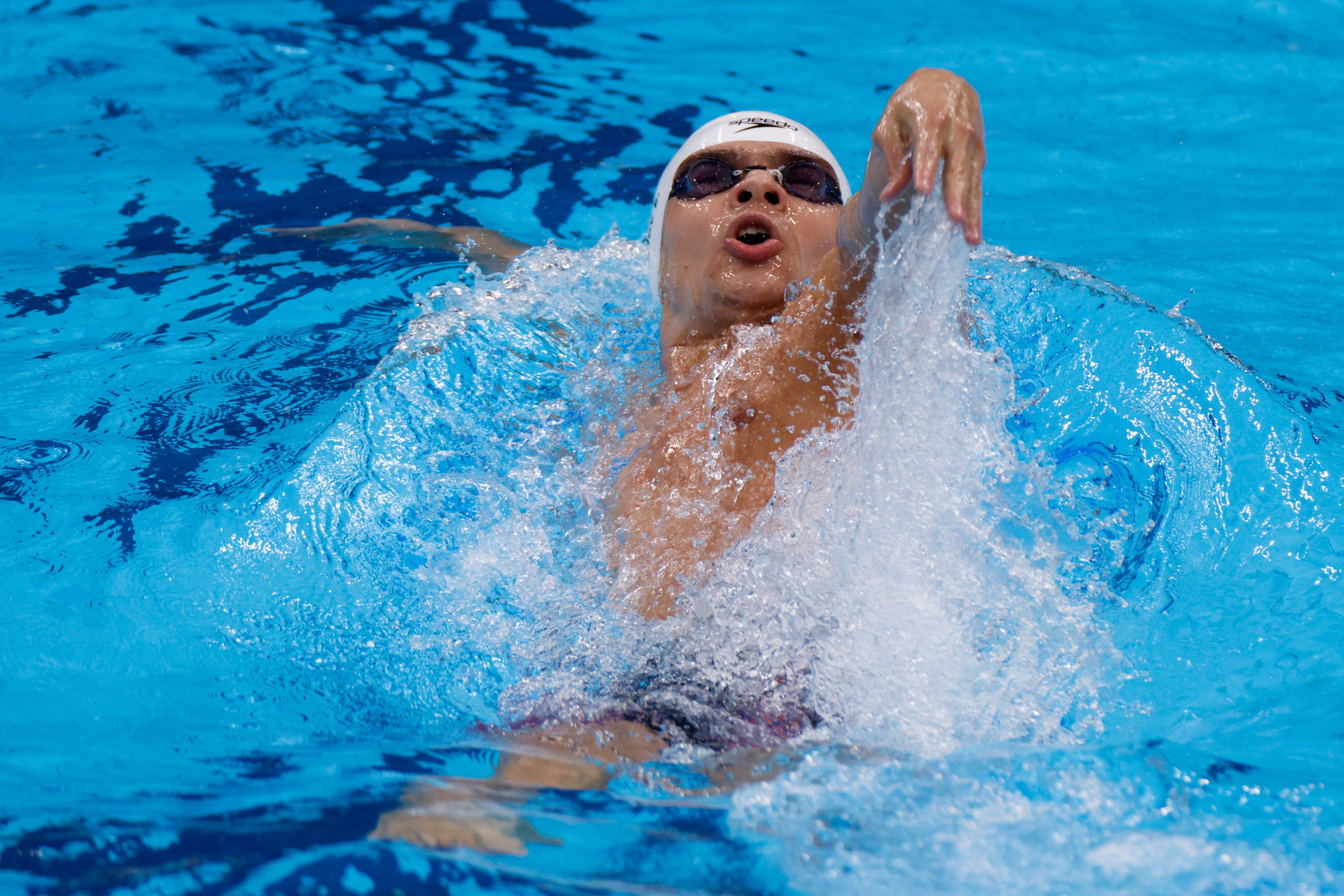 Evgeny Rylov has said that his hero is five-time Olympic champion Aaron Peirsol ©Getty Images