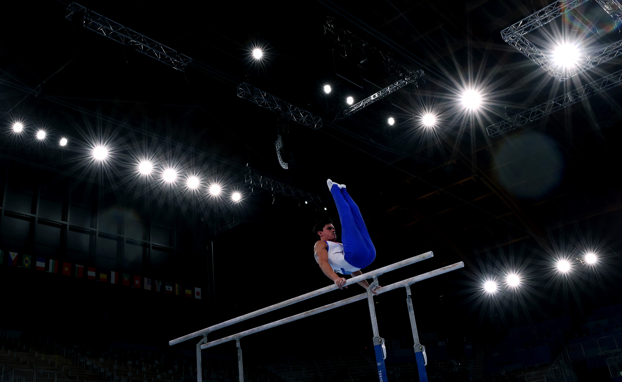 Artur Dalaloyan performed on all the apparatus in the men's artistic team all-around event at Tokyo 2020 ©Getty Images