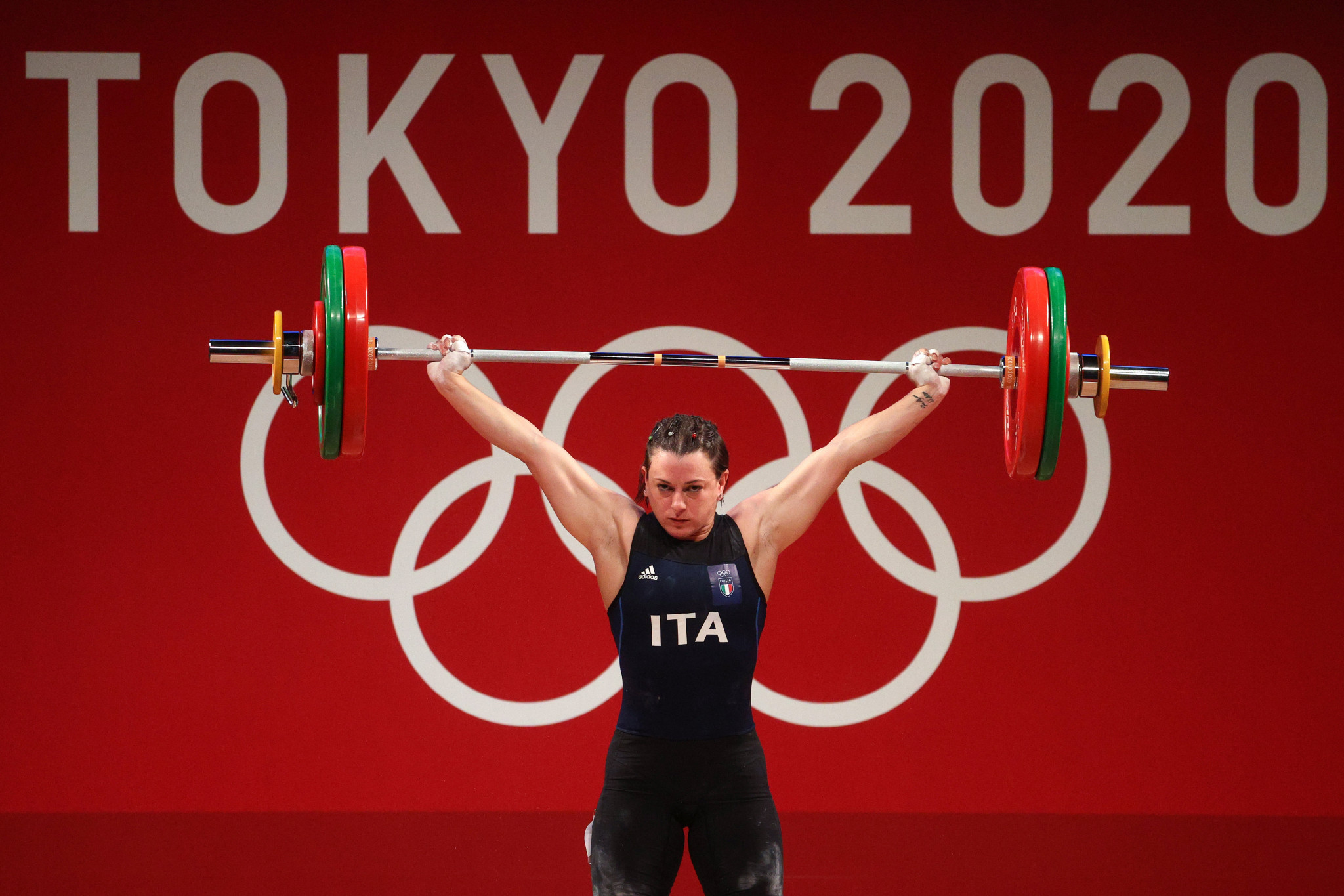 Giorgia Bordignon of Italy claimed the silver medal in the women's 64kg category at the Tokyo 2020 Olympics ©Getty Images