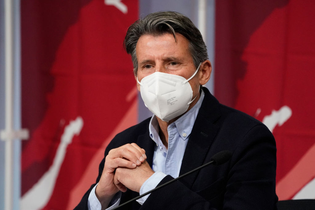 """World Athletics President Sebastian Coe has said there """"should be"""" a review over doping punishments for cannabis positives ©Getty Images"""
