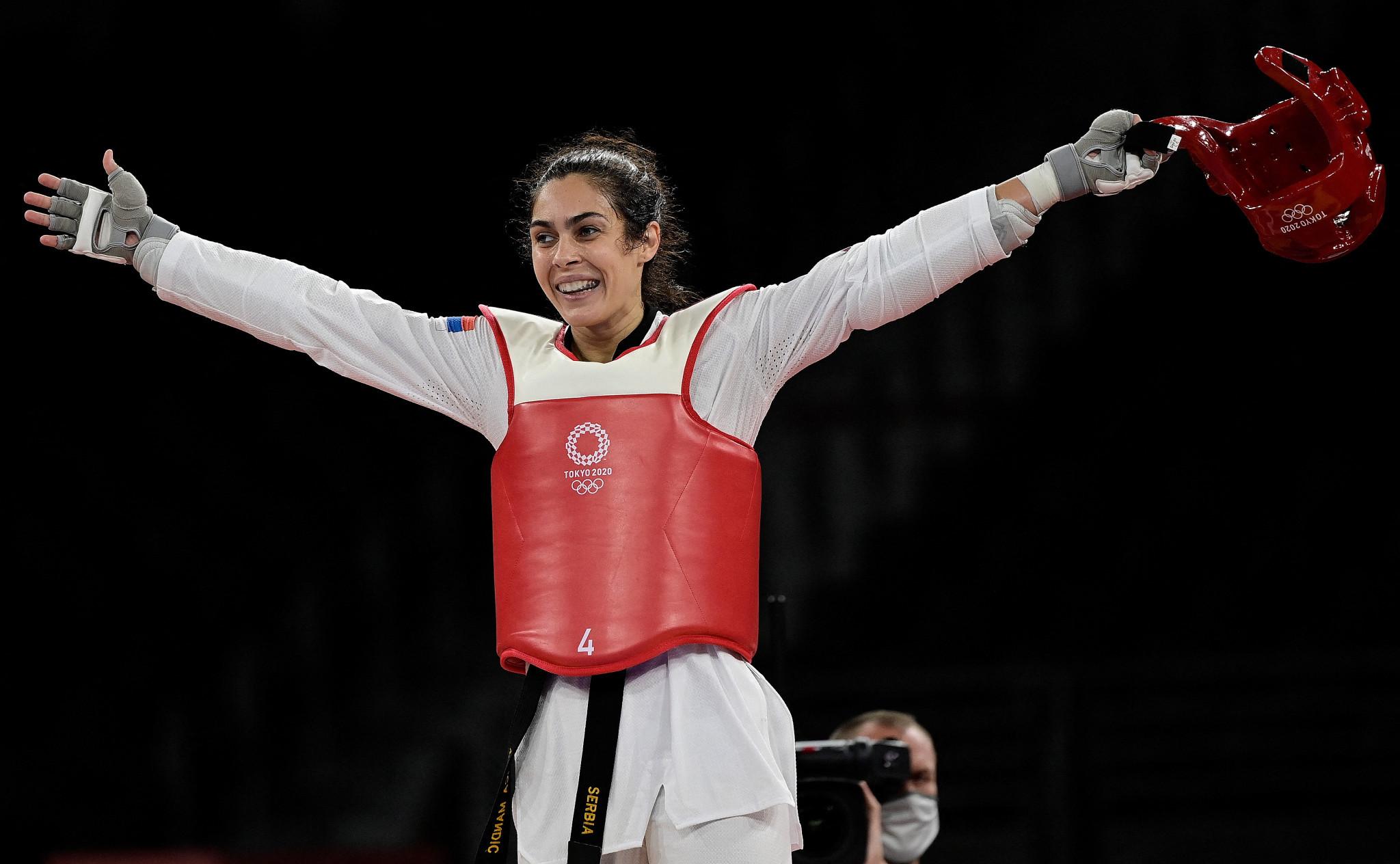 Serbia's Mandić reclaims Olympic gold as ROC enjoy more taekwondo success