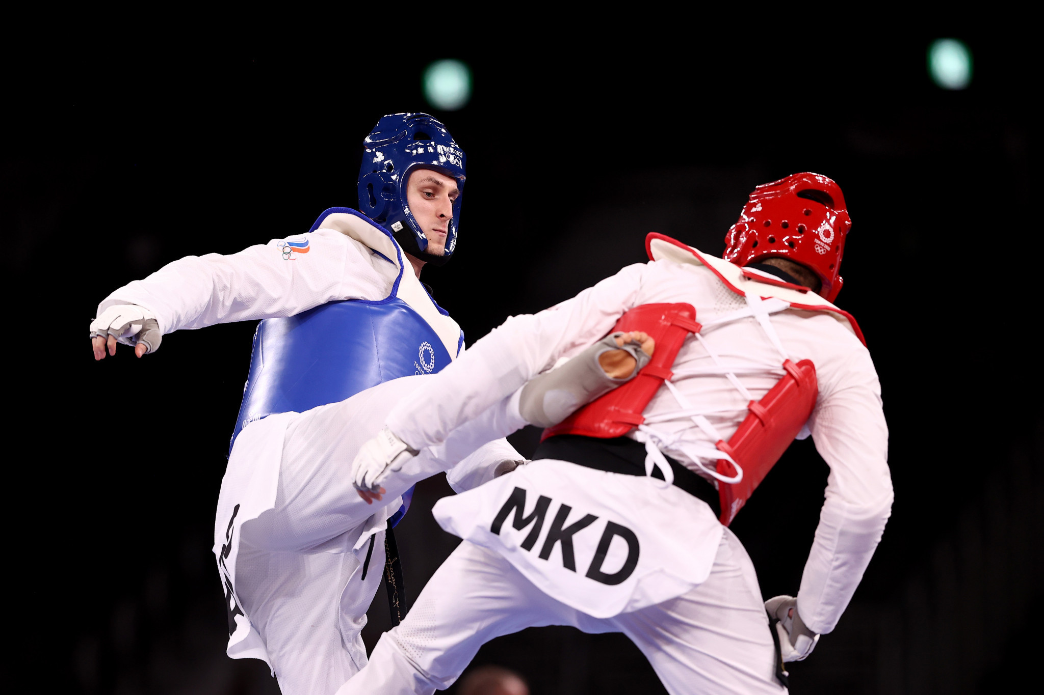 Vladislav Larin helped ROC finish top of the taekwondo medal table at Tokyo 2020 with the men's over-80kg gold ©Getty Images