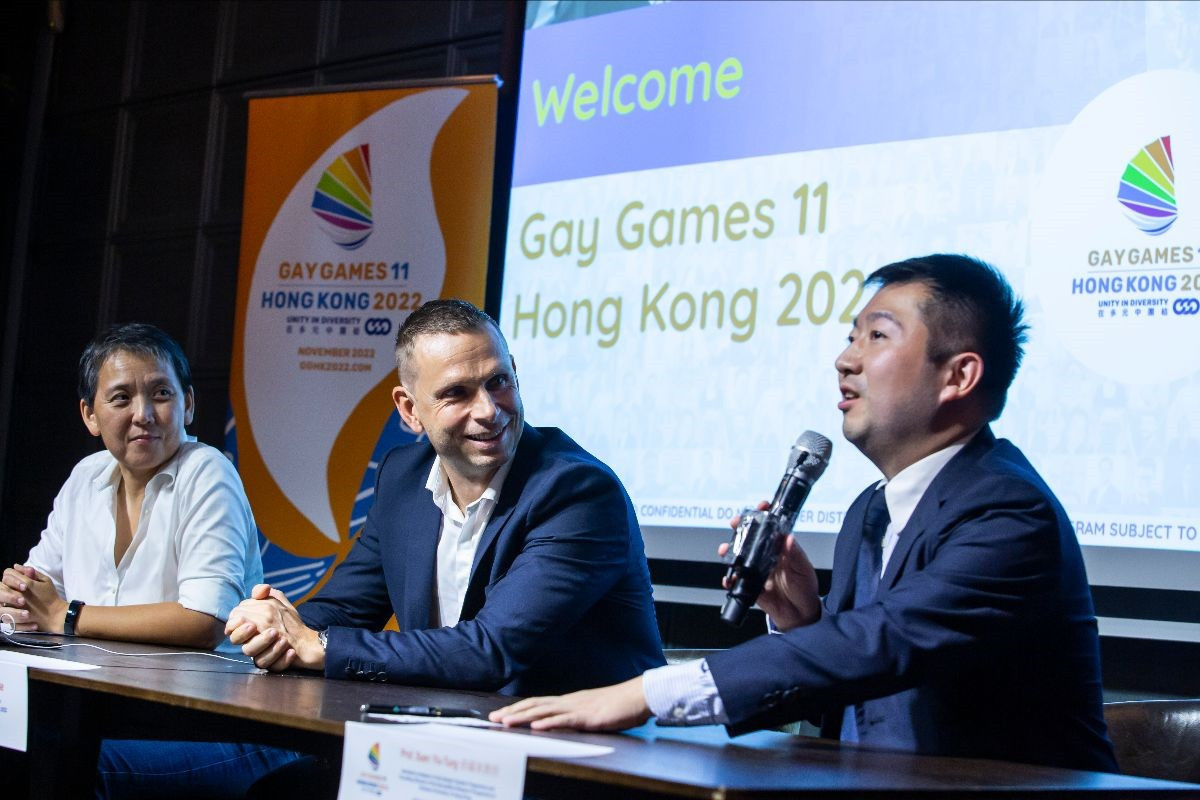 Calls for further support for 2022 Gay Games preparations in Hong Kong