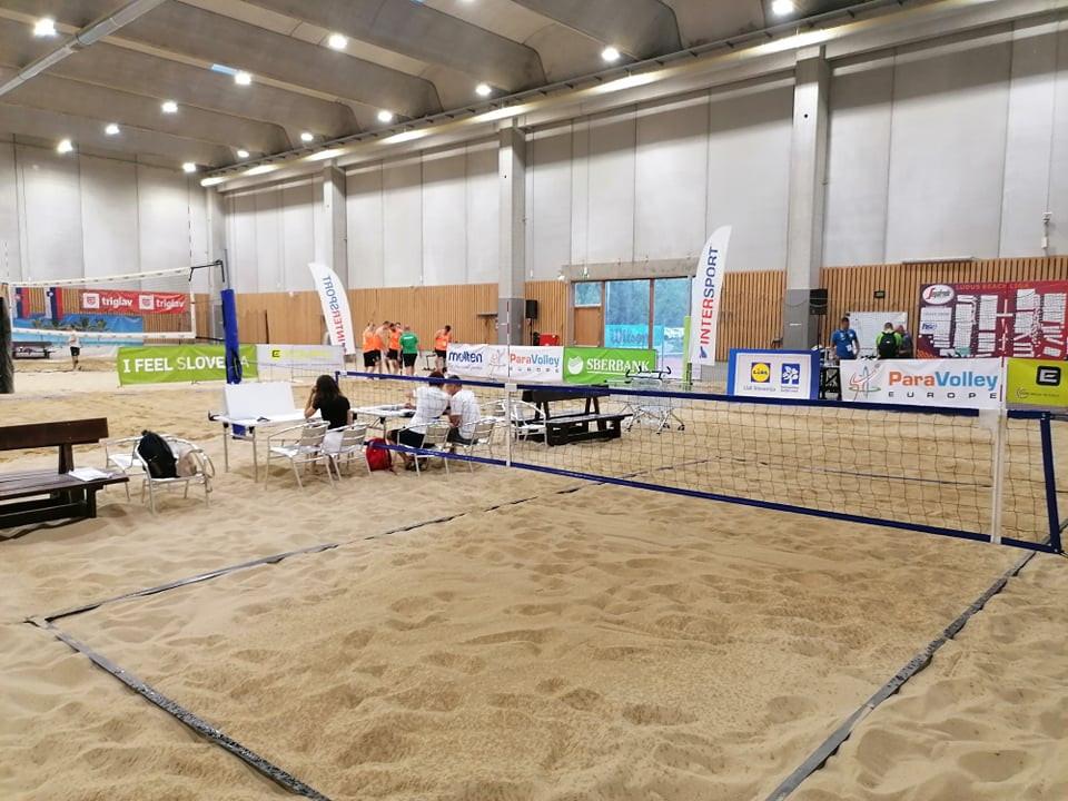 Perfect starts for Slovakia, Poland and Latvia at Beach ParaVolley Slovenian Open