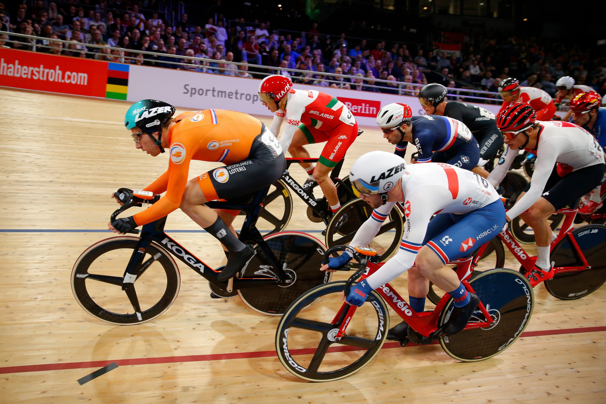 The UCI is looking for a new host for this year's Track Cycling World Championships  ©Getty Images