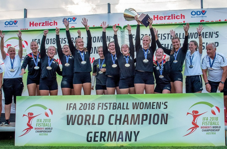 Germany out to continue dominance at Women's Fistball World Championship