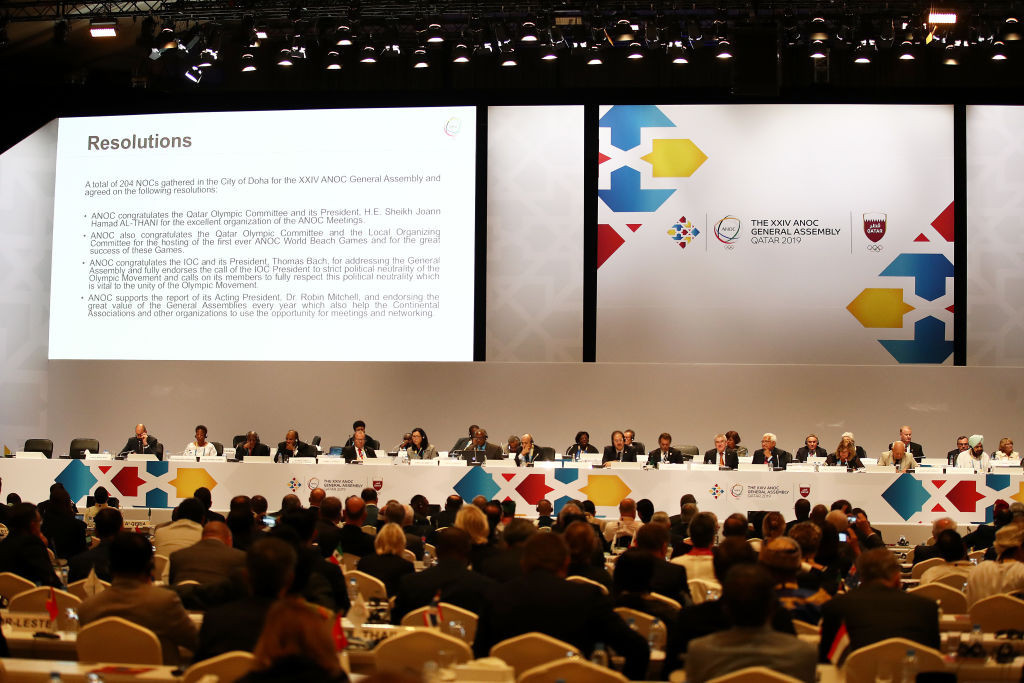 This year's ANOC General Assembly is set to take place in Athens after being moved from Seoul ©Getty Images