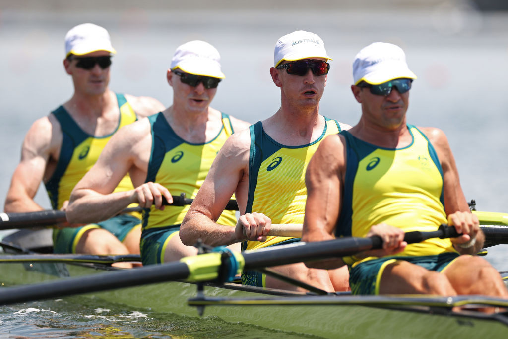 Australia end Britain's 20-year grip on men's four as six rowing world bests set