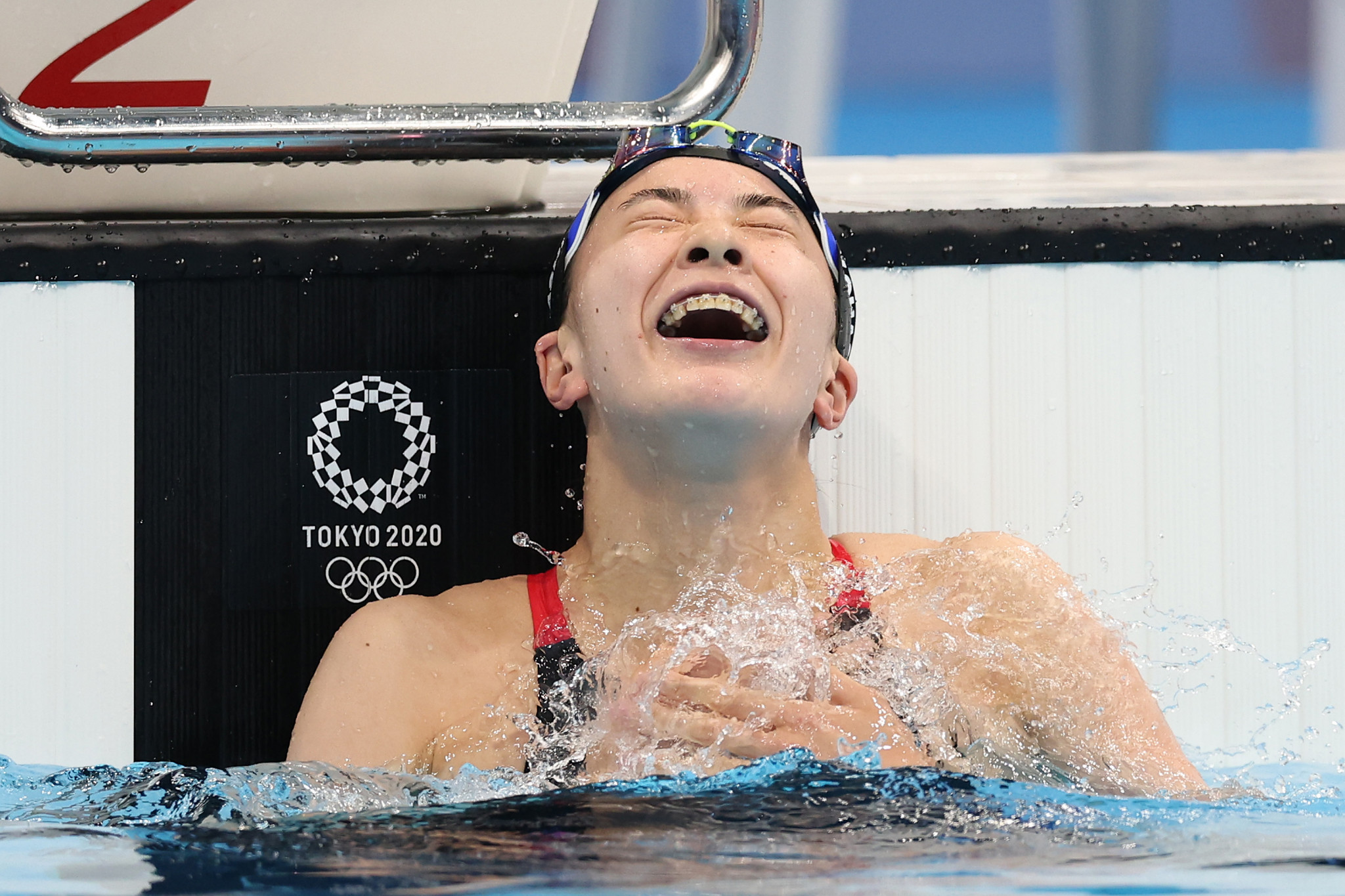 Yui Ohashi became a double Tokyo 2020 champion for hosts Japan ©Getty Images