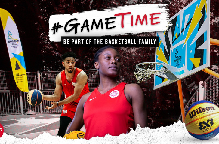 #GameTime launched by Basketball England to promote 3x3 with one year until Birmingham 2022