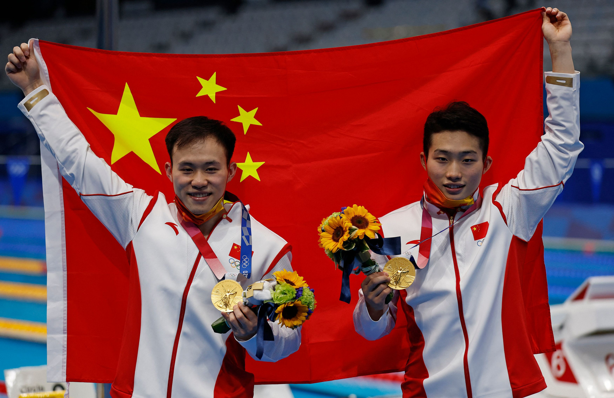 The pair continued China's proud history in diving ©Getty Images