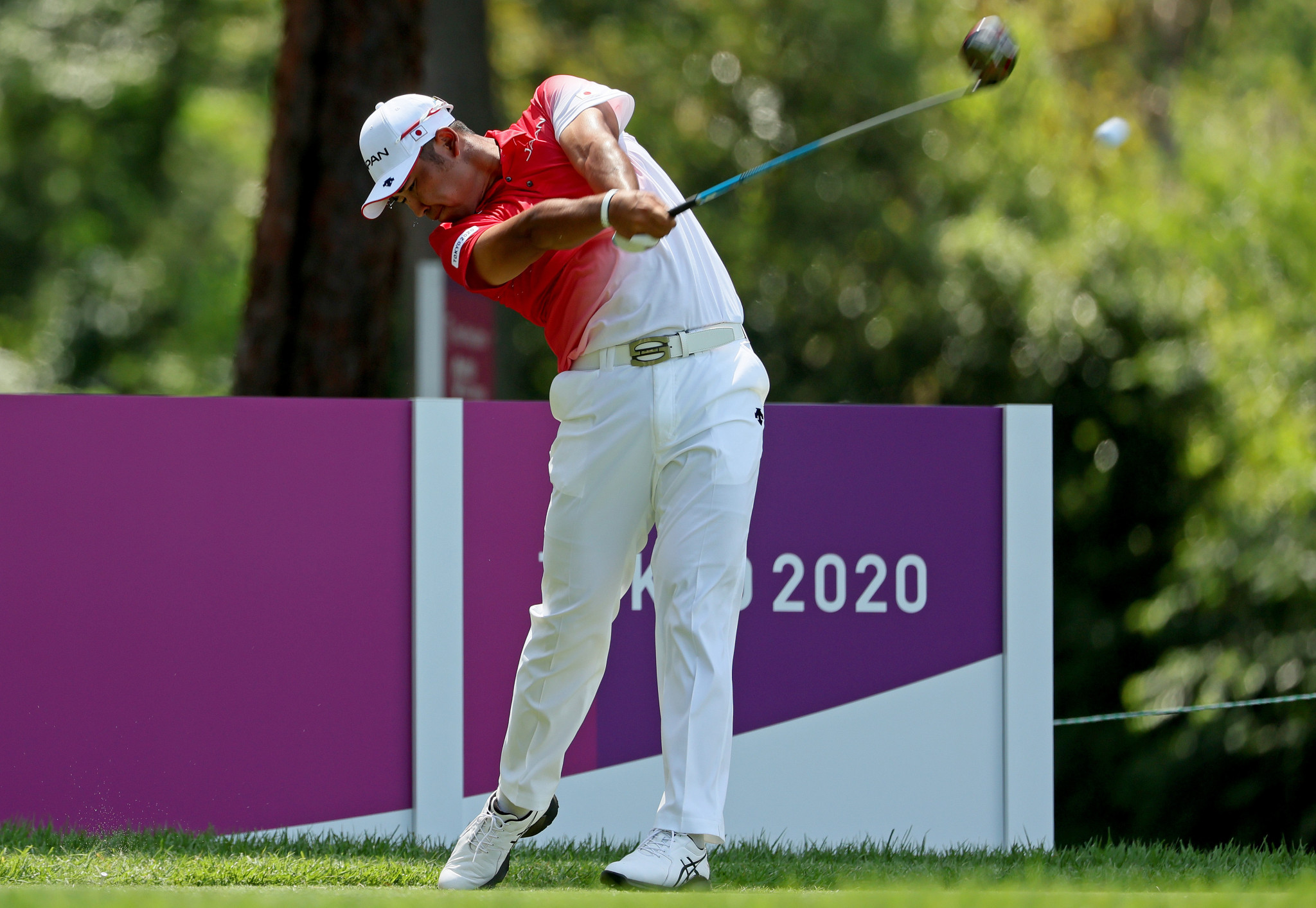 Hideki Matsuyama will hope to add home Olympic gold to his Masters title ©Getty Images