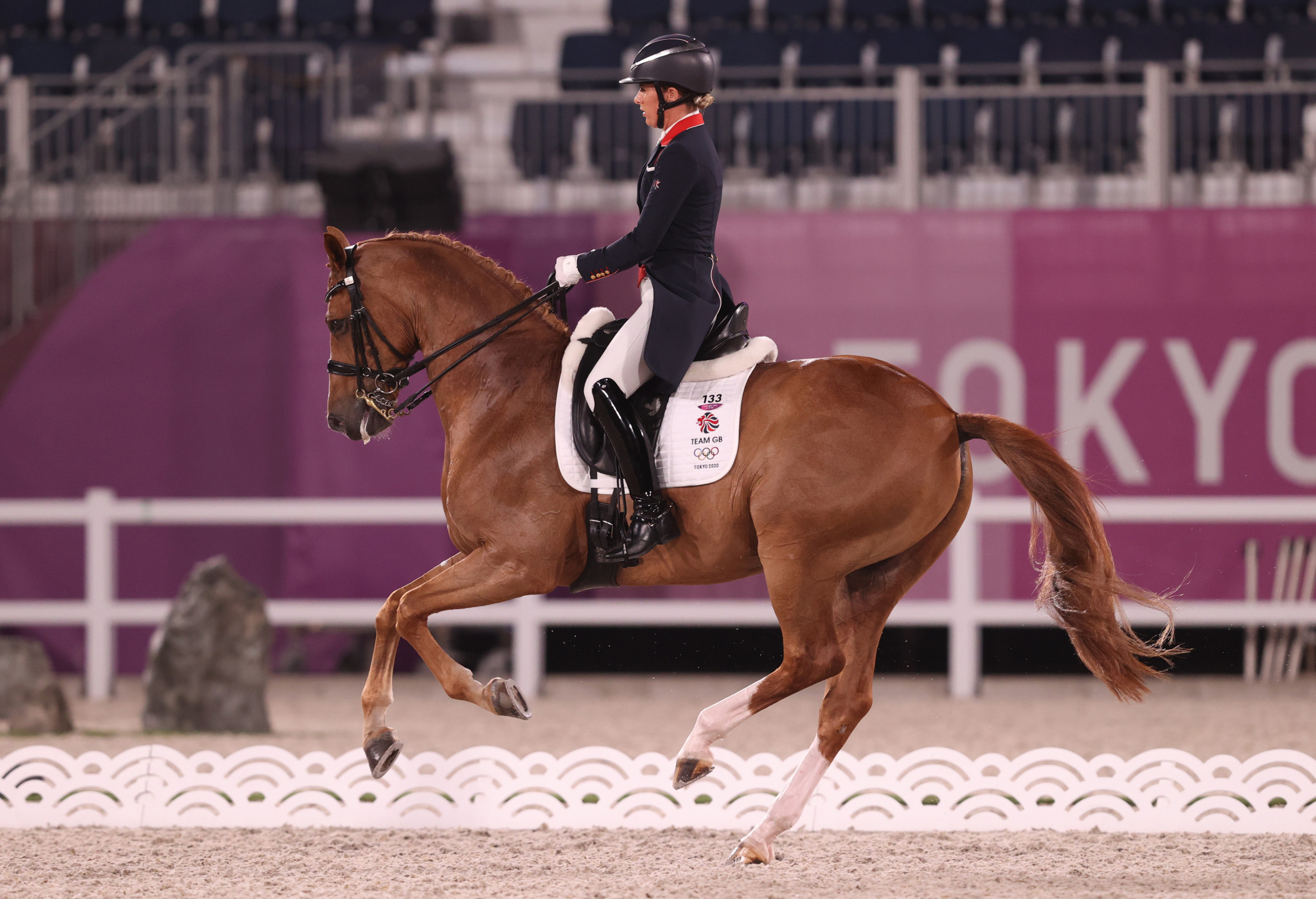 Back-to-back defending champion Charlotte Dujardin had to settle for a bronze medal at this Olympic Games