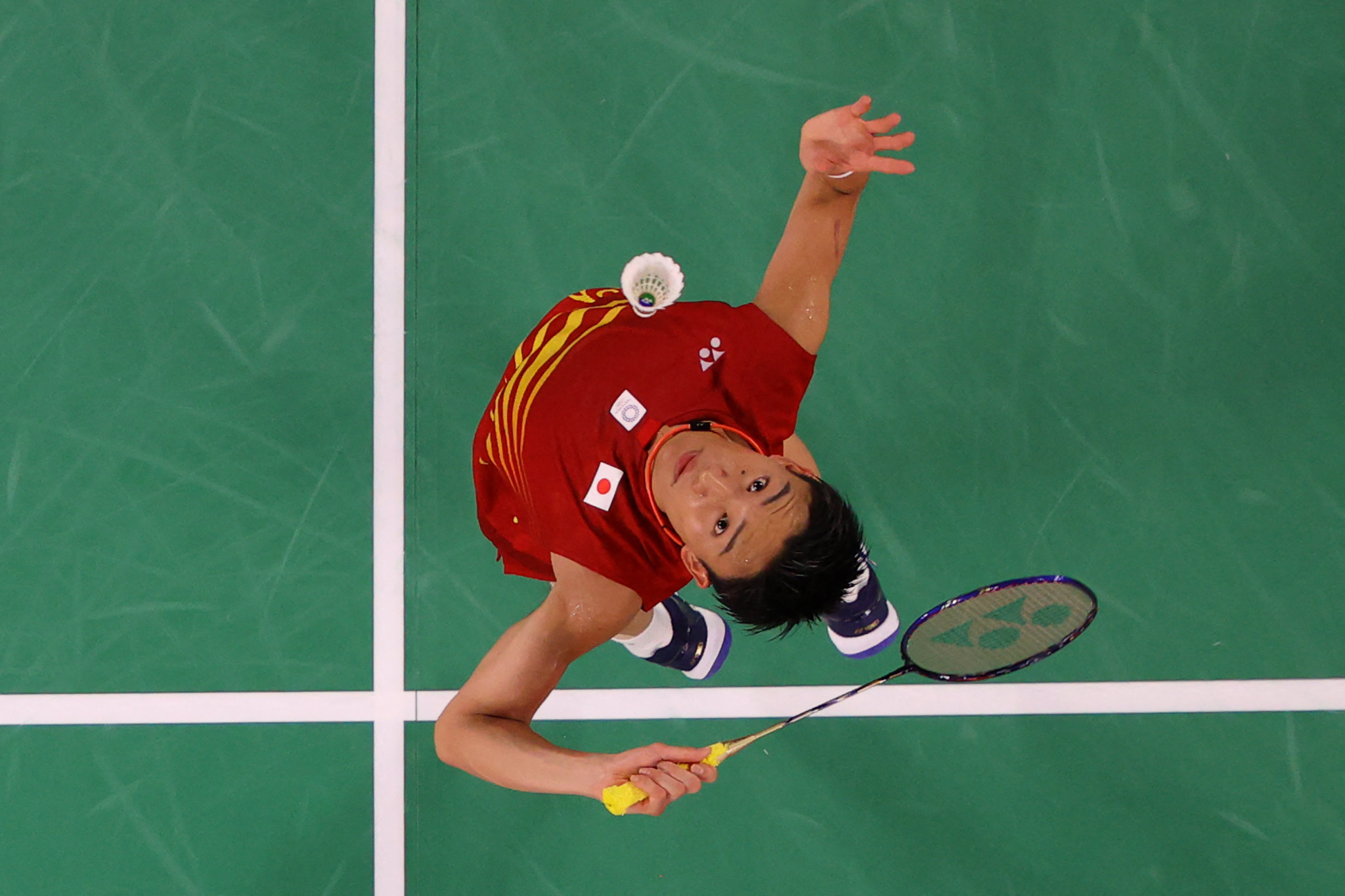 But there was disappointment for Japan's Kento Momota, with the world champion eliminated from the men's singles by South Korea's Heo Kwang-hee  ©Getty Images