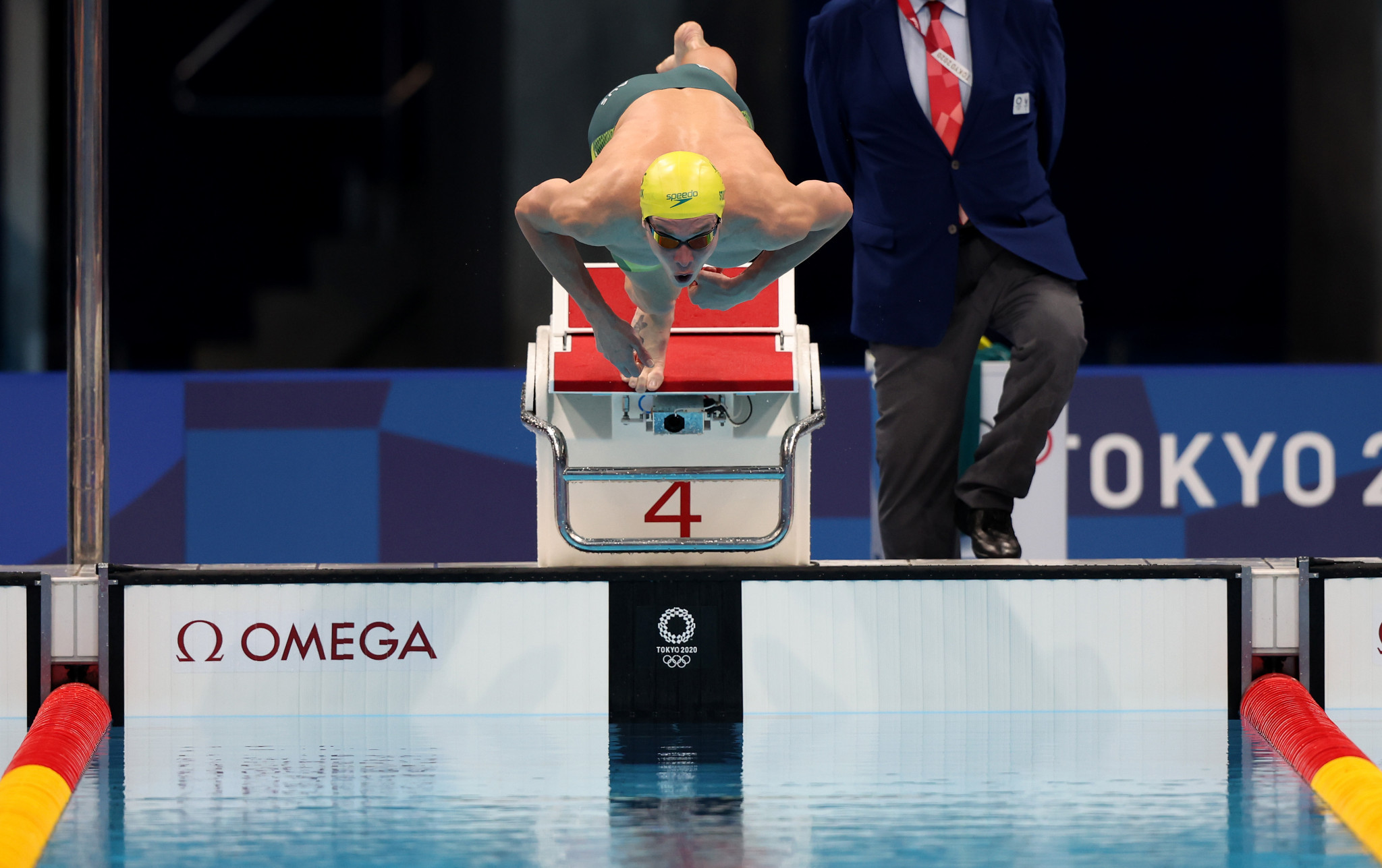 Izaac Stubblety-Cook won the men's 200m breaststroke gold ©Getty Images