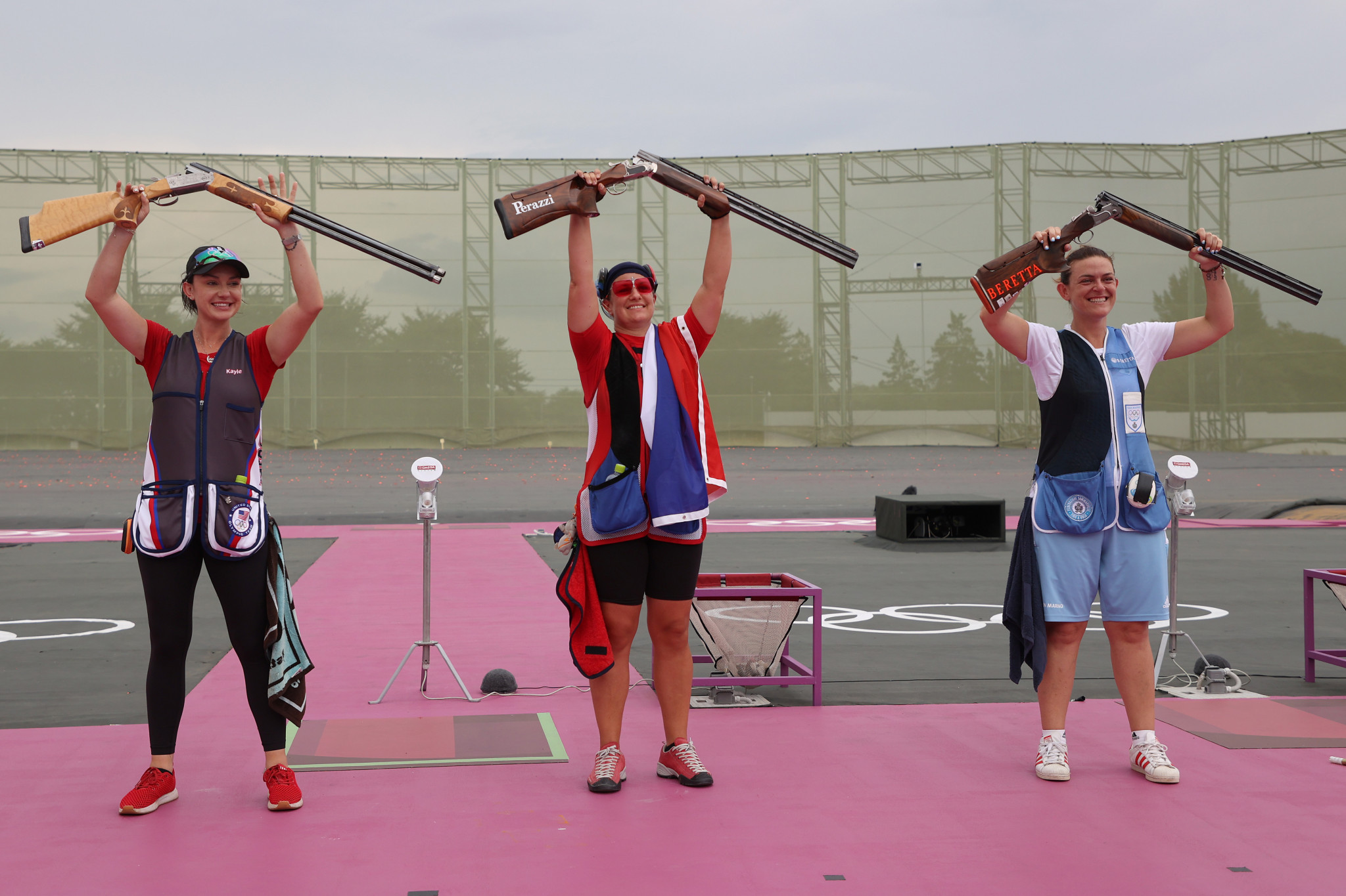 Štefečeková and Liptak claim trap shooting golds at Tokyo 2020