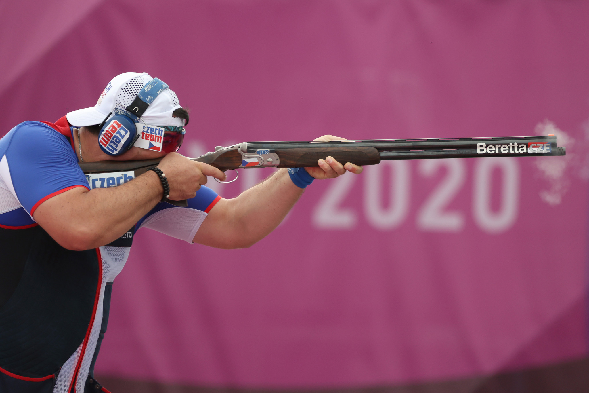 Jiri Liptak won gold in the men's trap competition at Tokyo 2020 ©Getty Images