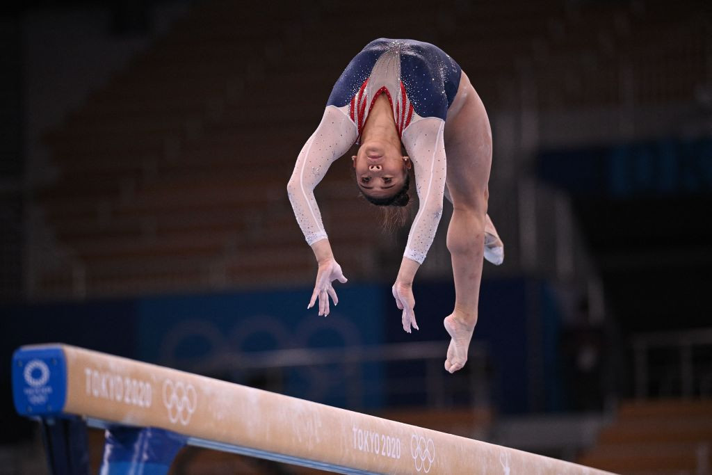 Lee succeeds Biles as Olympic champion with all-around triumph at Tokyo 2020