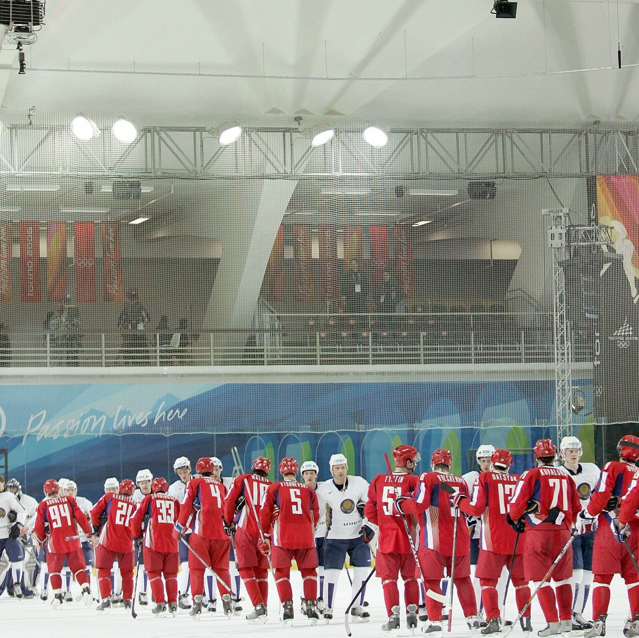 Pupkov was part of the Russia squad that competed at the 2006 Winter Olympic Games ©Getty Images