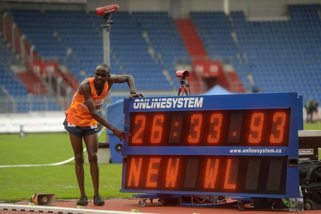 Joshua Cheptegei's Ugandan compatriot, 20-year-old Jacob Kiplimo, has run the fastest 10,000m this year and will challenge the world record-holder in tomorrow's night's Olympic final ©Getty Images