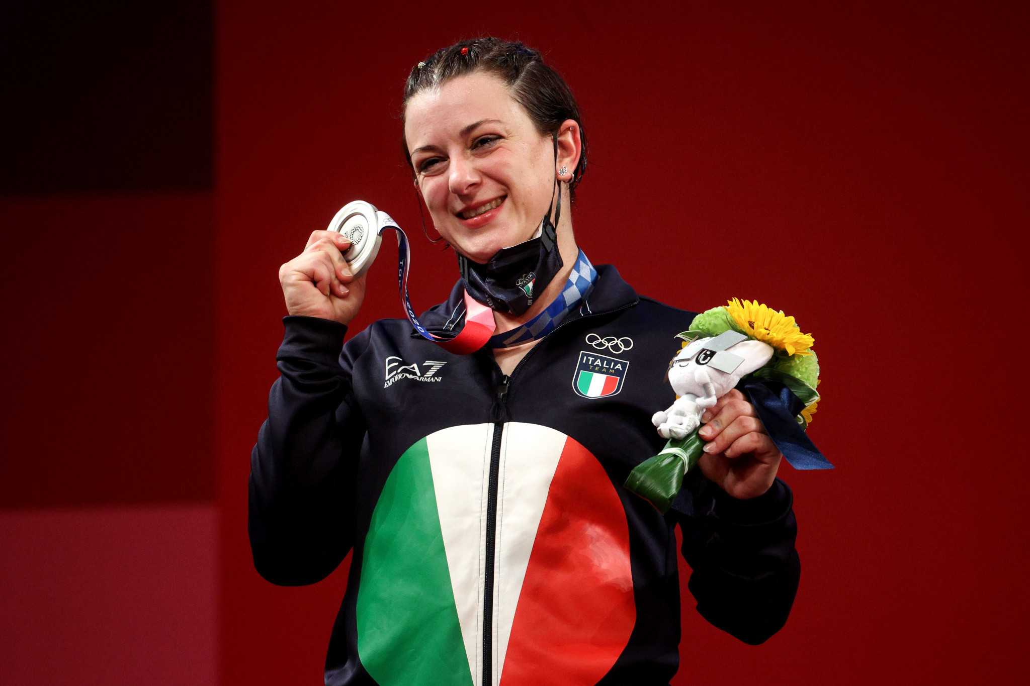 Georgia Portignon vince l'argento 64kg femminile a Tokyo 2020 © Getty Images