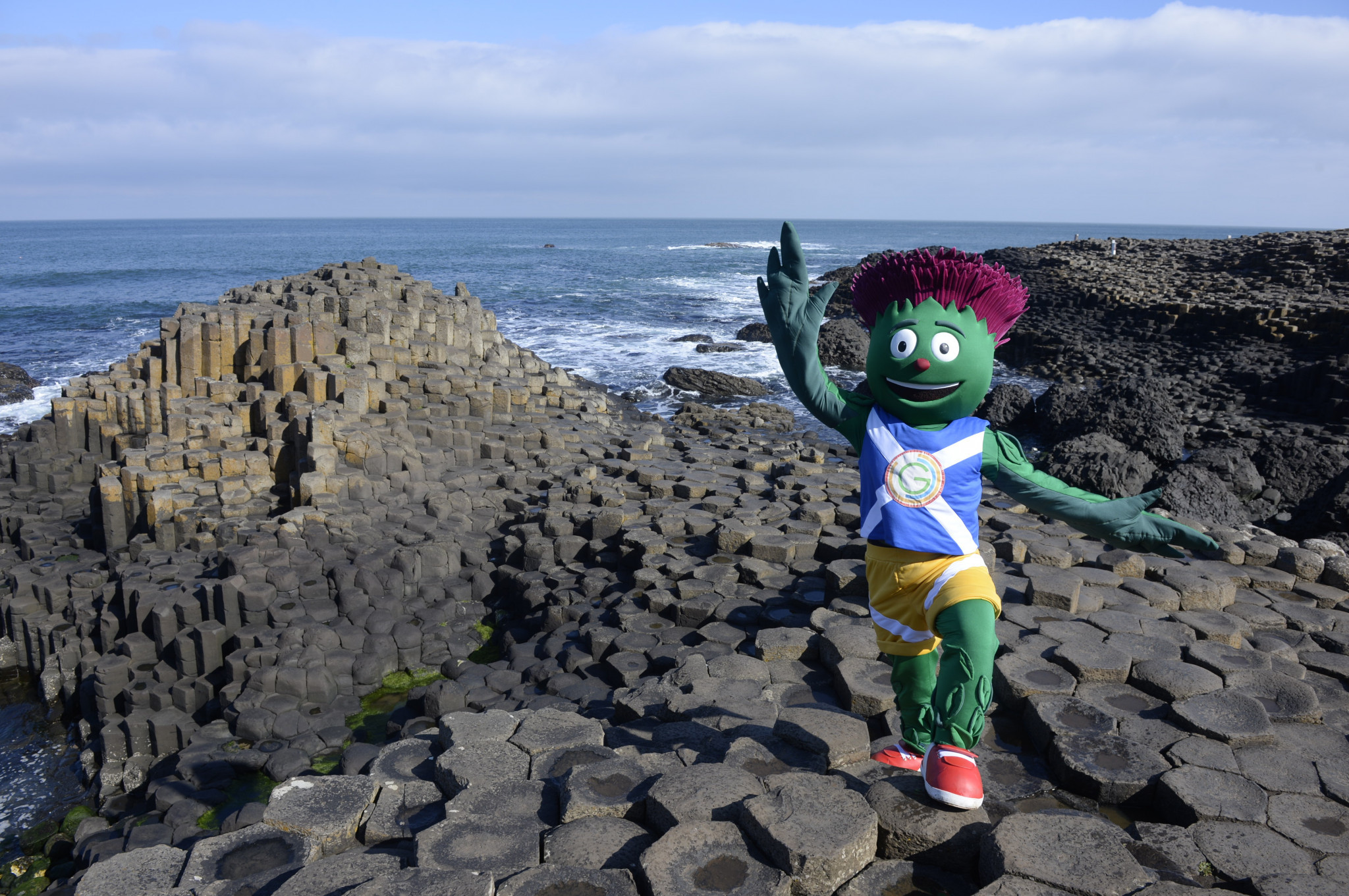 Missing statue of Glasgow 2014 mascot Clyde recovered after seven years