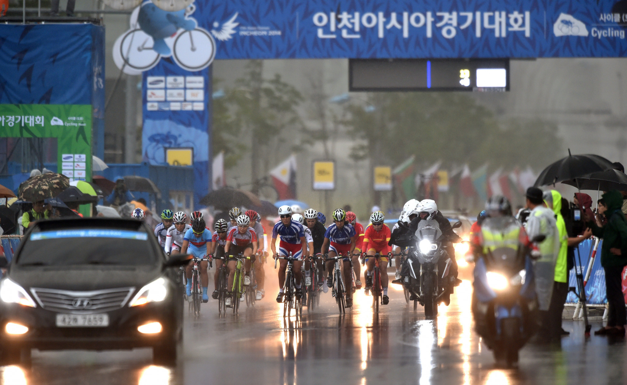 2026 Asian Games host city Shinshiro launches campaign for safe cycling
