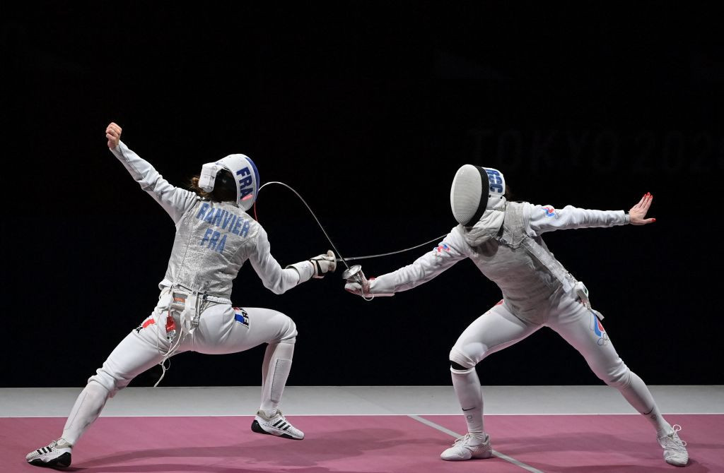 France could not find the way to beat ROC in the final of the women's foil team event ©Getty Images