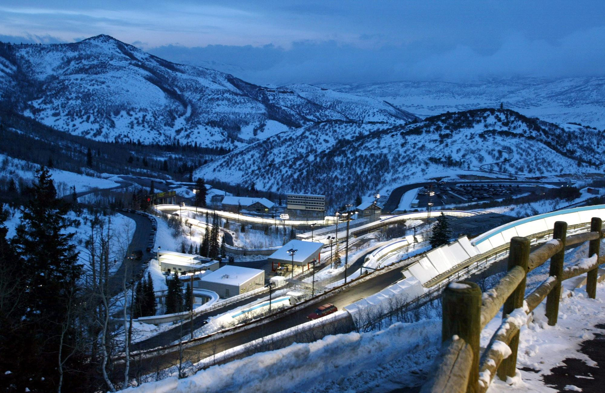 Utah Olympic Park is the home of American snow sports ©Getty Images