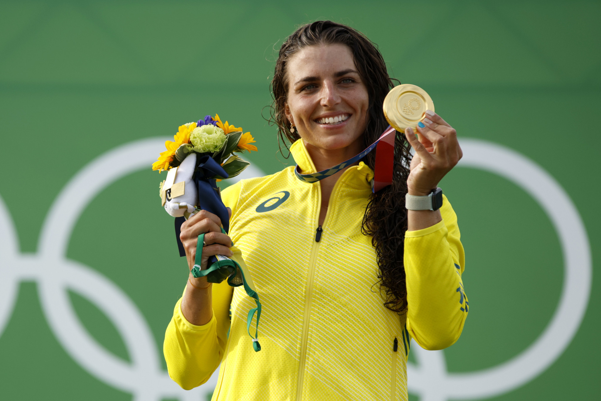 Jess Fox triumphed in the first-ever women's canoe slalom, with the Australian finally adding an Olympic gold medal to 10 world titles ©Getty Images